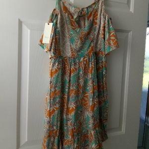 maaji botanic sandy dress size small